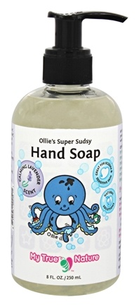 DROPPED: My True Nature - Ollie's Super Sudsy Hand Soap Lavender - 8 oz.