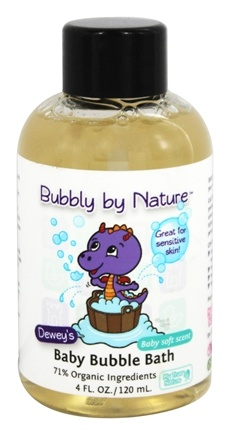 DROPPED: My True Nature - Dewey's Baby Bubble Bath Baby Soft - 4 oz.