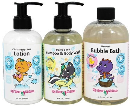 My True Nature - Tubby Time Clean and Soft Set - 1 Set(s)