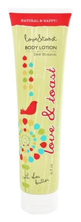 DROPPED: Love & Toast - Body Lotion With Shea Butter Dew Blossom - 6.7 oz.