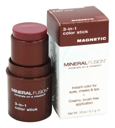DROPPED: Mineral Fusion - 3-In-1 Color Stick Magnetic - 0.18 oz.