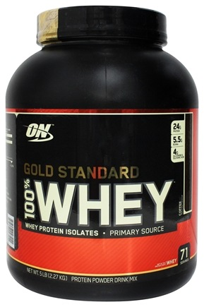 Optimum Nutrition - 100% Whey Gold Standard Protein Coffee - 5 lbs.