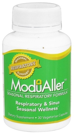 DROPPED: Kyolic - Modualler Seasonal Respiratory Formula - 30 Vegetarian Capsules CLEARANCE PRICED