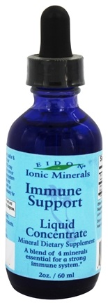 DROPPED: Eidon Ionic Minerals - Immune Support Liquid Concentrate - 2 oz. CLEARANCE PRICED