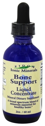 DROPPED: Eidon Ionic Minerals - Bone Support Liquid Concentrate - 2 oz.
