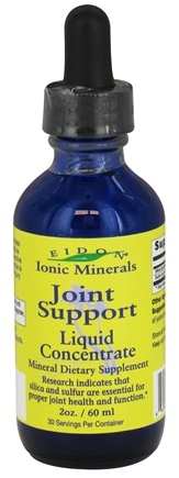 DROPPED: Eidon Ionic Minerals - Joint Support Liquid Concentrate - 2 oz. CLEARANCE PRICED