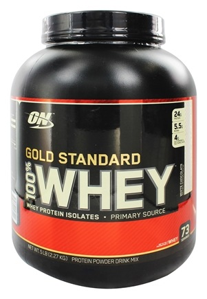 100 Whey Gold Standard Protein White Chocolate 5 Lbsoptimum Nutrition