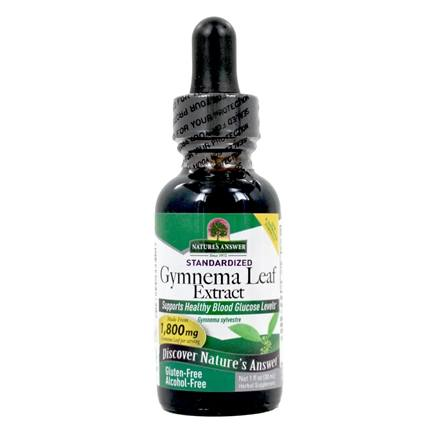 Nature's Answer - Gymnema Leaf Alcohol-Free Extract - 1 oz.