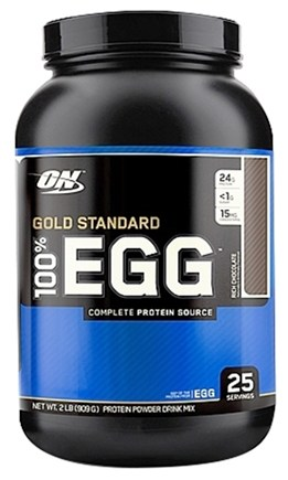 DROPPED: Optimum Nutrition - 100% Egg Gold Standard Protein Rich Chocolate - 2 lbs.