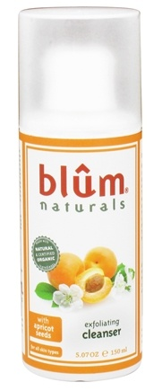 DROPPED: Blum Naturals - Exfoliating Cleanser with Apricot Seeds - 5.07 oz. CLEARANCE PRICED