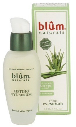 DROPPED: Blum Naturals - Lifting Eye Serum For All Skin Types - 1 oz.