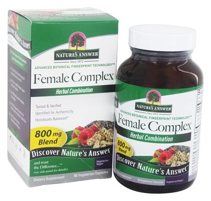 Nature's Answer - Female Complex Herbal Blend - 90 Vegetarian Capsules