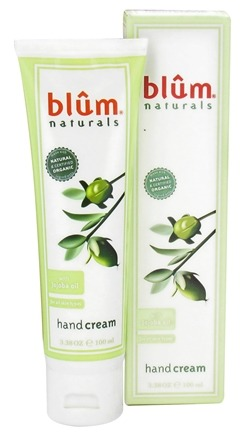 DROPPED: Blum Naturals - Hand Cream with Jojoba Oil - 3.38 oz. CLEARANCE PRICED