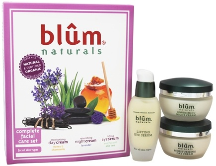 DROPPED: Blum Naturals - Complete Facial Care Set - 3 Piece(s) CLEARANCE PRICED