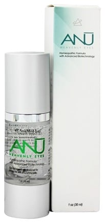 DROPPED: AnuMed - ANU Heavenly Eyes Homeopathic Formula Eye Gel - 1 oz. CLEARANCE PRICED