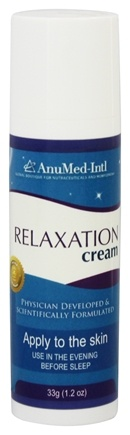 DROPPED: AnuMed - Relaxation Cream Travel Size - 1.2 oz. CLEARANCE PRICED