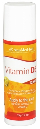 DROPPED: AnuMed - Vitamin D3 Cream Travel Size - 1.2 oz. CLEARANCE PRICED