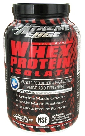 DROPPED: Extreme Edge - Whey Protein Isolate Atomic Chocolate - 2 lbs. CLEARANCE PRICED