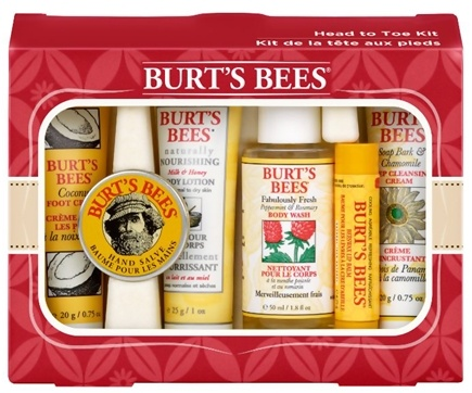 DROPPED: Burt's Bees - Head To Toe Natural Body Care Kit - 6 Piece(s)