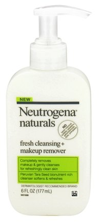 DROPPED: Neutrogena - Naturals Fresh Cleansing + Makeup Remover - 6 oz.