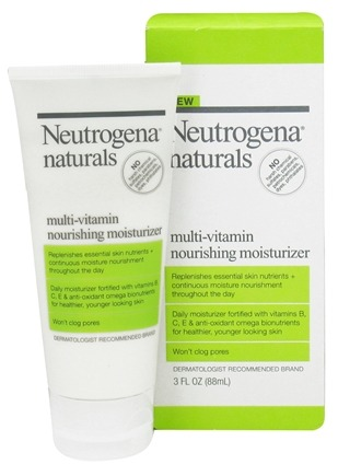 Zoom View - Naturals Multi-Vitamin Nourishing Moisturizer