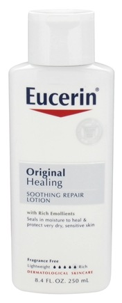 DROPPED: Eucerin - Original Healing Soothing Repair Lotion Fragrance Free - 8.4 oz. CLEARANCE PRICED