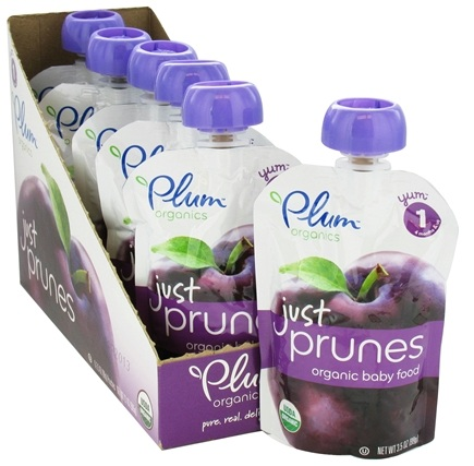 DROPPED: Plum Organics - Just Prunes Organic Baby Food Puree - 3.5 oz. CLEARANCE PRICED