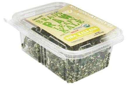 DROPPED: Brad's Raw Foods - Leafy Kale Pina Kale-Ada Coconut & Pineapple - 2.5 oz.