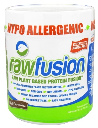 DROPPED: SAN Nutrition - Raw Fusion Plant Based Protein Rich Chocolate - 15.9 oz. CLEARANCED PRICED