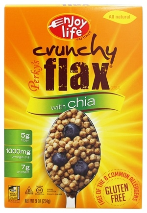 DROPPED: Enjoy Life Foods - Perky's Crunchy Flax with Chia Cereal - 9 oz.