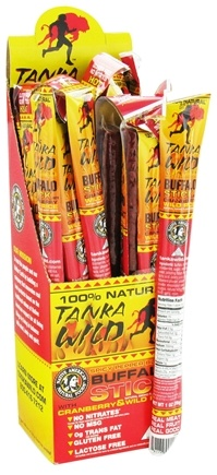 DROPPED: Tanka Bar - Buffalo Stick Hot - 1 oz. CLEARANCE PRICED