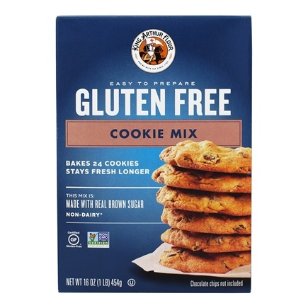 DROPPED: King Arthur Flour - Gluten-Free Cookie Mix - 16 oz. CLEARANCE PRICED