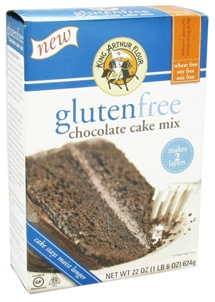 DROPPED: King Arthur Flour - Gluten-Free Chocolate Cake Mix - 22 oz. CLEARANCE PRICED