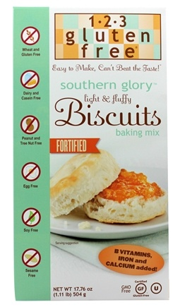 123 Gluten Free - Southern Glory Biscuit Mix - 17.76 oz.