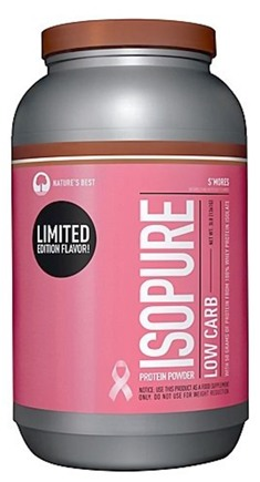 DROPPED: Nature's Best - Isopure Perfect Zero Carb Limited Edition S'Mores - 3 lbs.