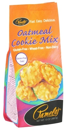 DROPPED: Pamela's Products - Oatmeal Cookie Mix Gluten Free - 13 oz.