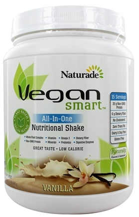 Naturade - VeganSmart All-In-One Nutritional Shake Vanilla - 22.75 oz.