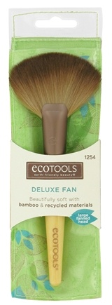 DROPPED: Eco Tools - Deluxe Fan Makeup Brush - CLEARANCE PRICED