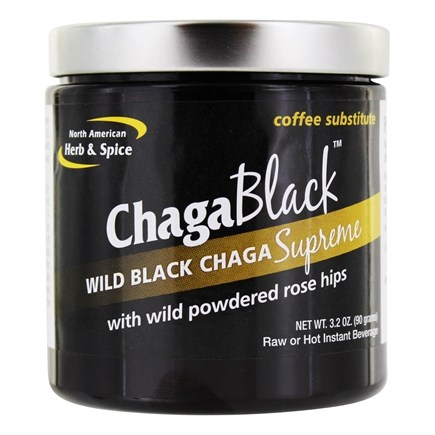 DROPPED: North American Herb & Spice - ChagaBlack Coffee Substitute - 3.2 oz.