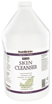 DROPPED: Nutribiotic - Non-Soap Skin Cleanser Fresh Fruit Scent - 1 Gallon CLEARANCE PRICED