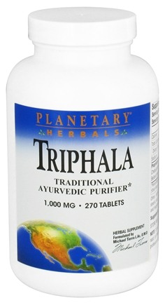 DROPPED: Planetary Herbals - Triphala Natural Cleanser - 270 Tablet(s) CLEARANCE PRICED