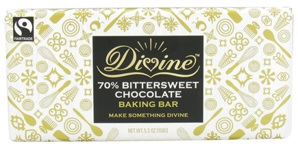 DROPPED: Divine - 70% Bittersweet Chocolate Baking Bar - 5.3 oz.