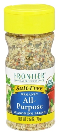 DROPPED: Frontier Natural Products - Organic All-Purpose Seasoning Blend - 2.5 oz. CLEARANCE PRICED