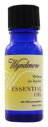 DROPPED: Wyndmere Naturals - Essential Oil Melissa in Jojoba Oil - 0.33 oz.