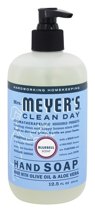 Mrs. Meyer's - Clean Day Liquid Hand Soap Bluebell - 12.5 oz.