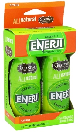 DROPPED: Celestial Seasonings - Green Tea Enerji Shot Citrus - 5 oz. CLEARANCE PRICED