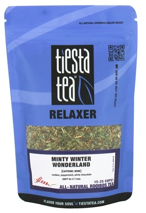 DROPPED: Tiesta Tea - Relaxer Rooibos Tea Minty Winter Wonderland - 1.6 oz. CLEARANCE PRICED