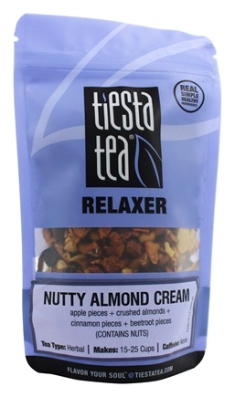 DROPPED: Tiesta Tea - Relaxer Herbal Tea Nutty Almond Cream - 2.1 oz.
