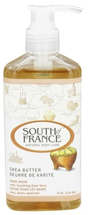 DROPPED: South of France - Hand Wash Shea Butter - 8 oz.