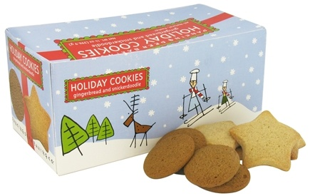 DROPPED: Dancing Deer Baking Co. - Holiday Cookies Gift Box Gingerbread and Snickerdoodle - 14 oz.